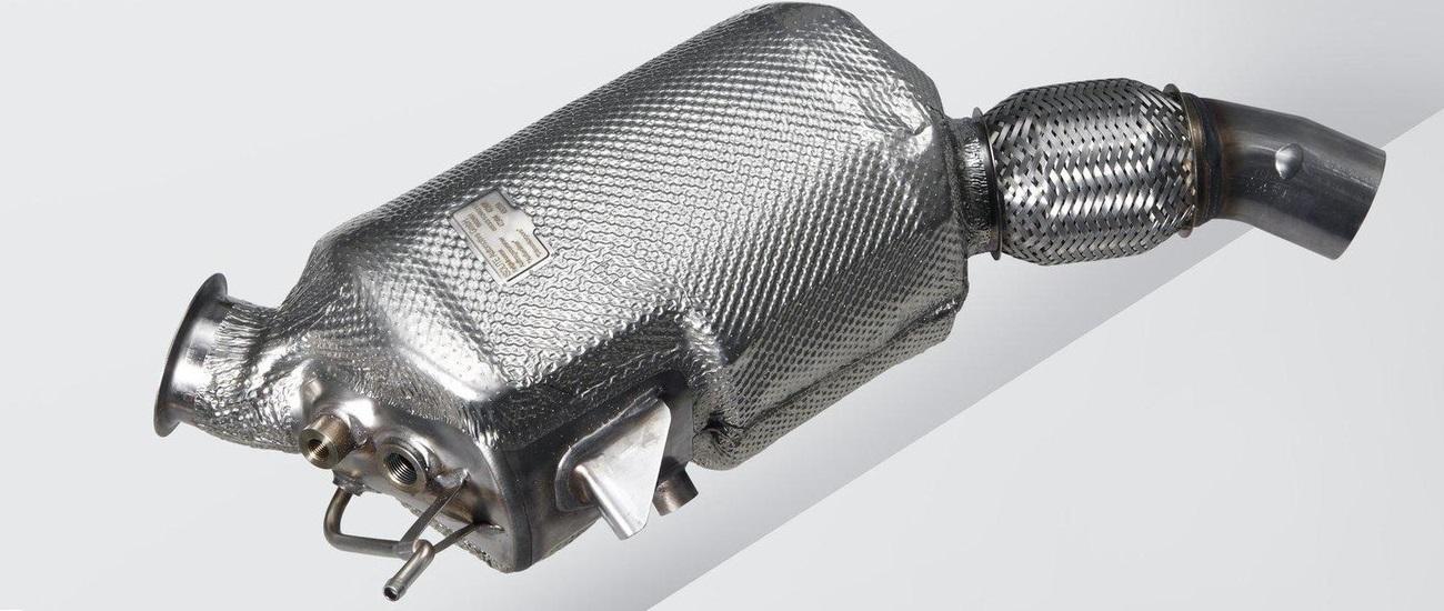 BMW Diesel Particulate Filter